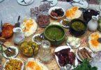 رشت شهری با ۲۲۰ خوراک محلی