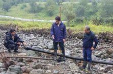 با تلاش کارکنان گاز استان گیلان، گاز بیش از ۳۵۰ خانوار سیل زده در تالش وصل شد
