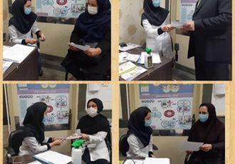 انجام ویزیت رایگان در درمانگاه تغذیه مرکز آموزشی درمانی ولایت رشت