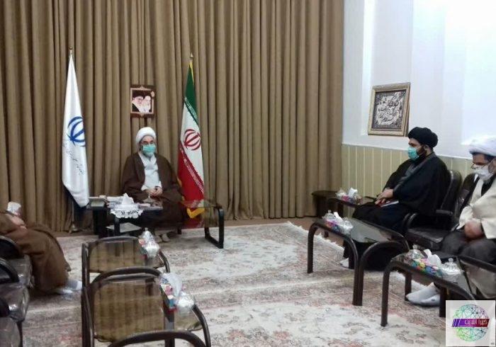دیدار آیت الله فلاحتی با معاون امور مجلس و استانهای سازمان اوقاف