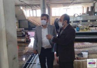بازرسی ویژه تیم های نظارتی از کارخانجات قالیشویی و واحدهای خشکشویی