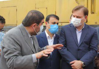 بازدید دکتر زارع از روند اجرای پروژه زورخانه امام علی (ع) رشت