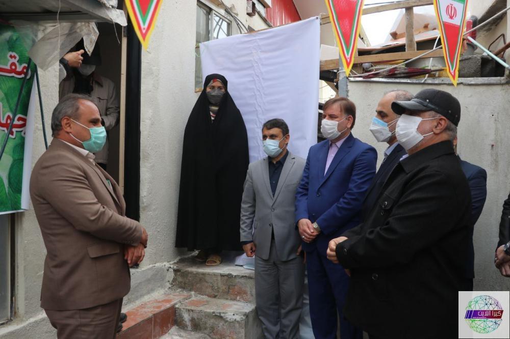 افتتاح مسکن محرومان در رشت