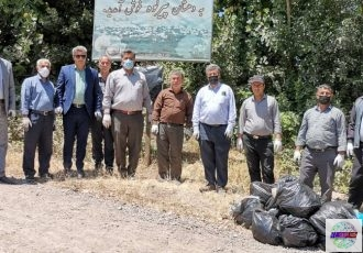 روستاهای سیاهکل در هفته محیط زیست پاکسازی شد