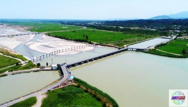 چهارمین مرحله آبگذاری شالیزارهای مناطق شرق گیلان
