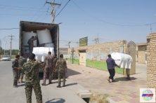 ارسال نخستین محموله تانکرآب توسط سپاه قدس استان با همکاری جمعیت هلال احمر به خوزستان