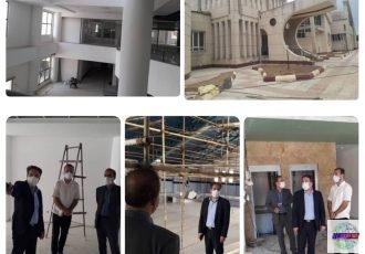 بازدید مستمر مدیرکل راه و شهرسازی استان گیلان از پروژه های در دست احداث کتابخانه مرکزی و استخر فرهنگیان رشت