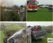 مهار آتش سوزی در پارک ملی بوجاق