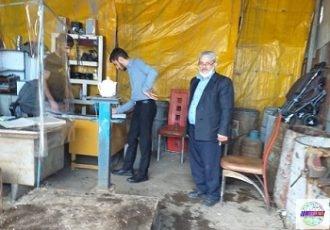 بازدید از مراکز خرید و فروش اسقاط ضایعاتی در شهرستان رودسر